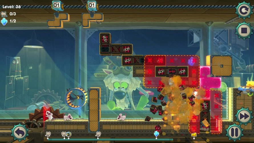 The Quest For Cheese: Tetromino Puzzler 'MouseCraft' Has Arrived