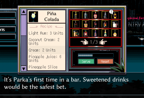 'N1RV ANN-A: Cyberpunk Bartender Action' Aims to Pour Drinks and Tell Stories... Soon!