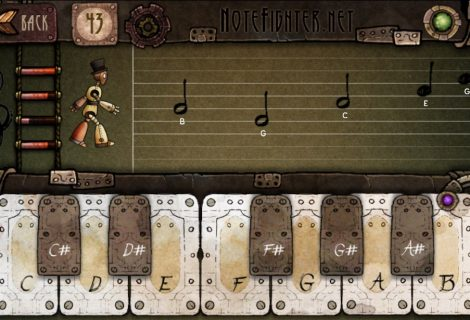 'Note Fighter' Review: Survivability Based Entirely On Pianist Skills