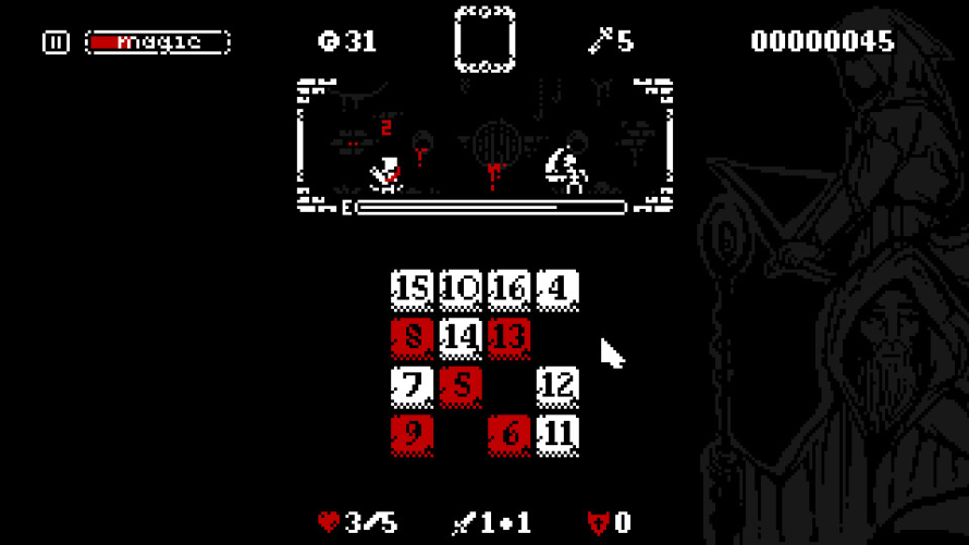 'Numgeon' Will Test Your Ability to Think (and Click) Fast to Survive Numeric Encounters