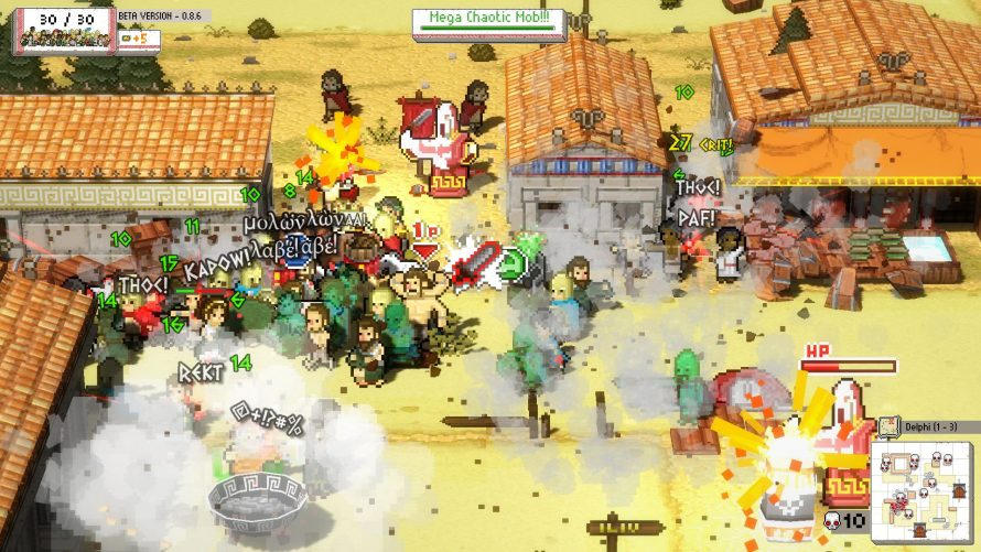 'Okhlos' – Don a Toga and Take Charge of a Crazed Mob Hellbent on Anarchy