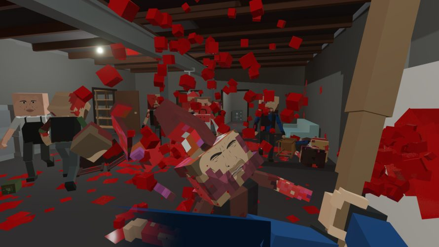 Spill the Blood of Voxel-Based Enemies as You 'Paint the Town Red'