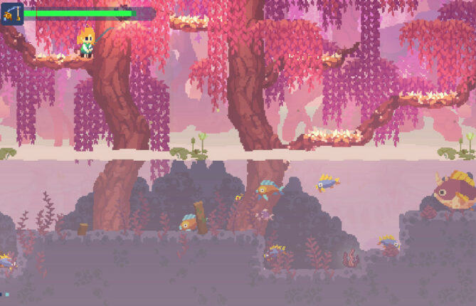 Adventure Awaits in Pixelated Puzzle Platformer 'Phoenotopia: Awakening'