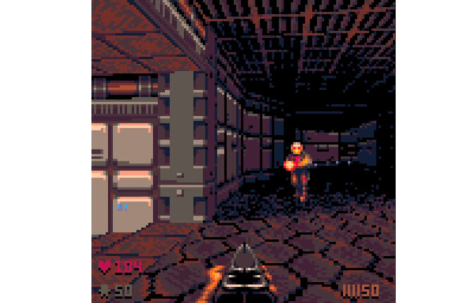'POOM' is an Absolutely Brilliant 'DOOM (1993)' Demake in PICO-8