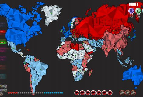 Outsmart Cold War Enemies and Allies in 'Precipice' or Press That Big Red Button