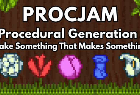 From Random to Randomness: Procedural Generation Jam 2016 Is Underway