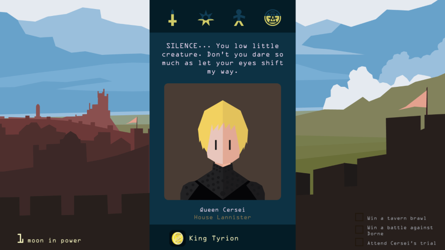 Swipe Left or Right to Determine the Fate of Fan Favorites in 'Reigns: Game of Thrones'