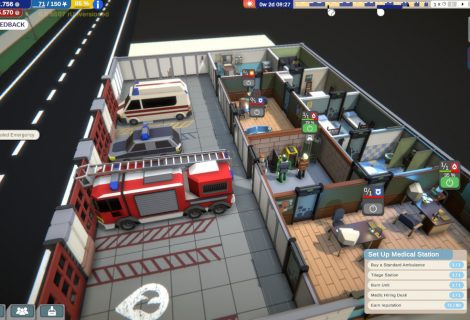 Only YOU Can Prevent Forest Fires, Provide Medical Aid, Arrest Drunks, in 'Rescue HQ - The Tycoon'