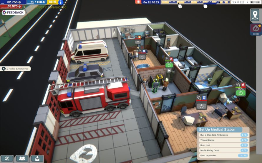 Only YOU Can Prevent Forest Fires, Provide Medical Aid, Arrest Drunks, in 'Rescue HQ – The Tycoon'