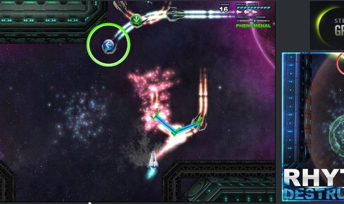 DDR Meets SHMUP This October In 'Rhythm Destruction'