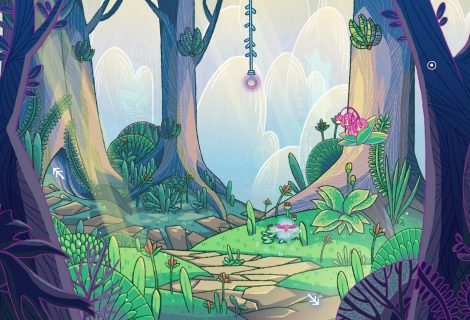 'She and the Light Bearer': Poetry Meets Point 'n Click Adventuring in a Daunting Forest