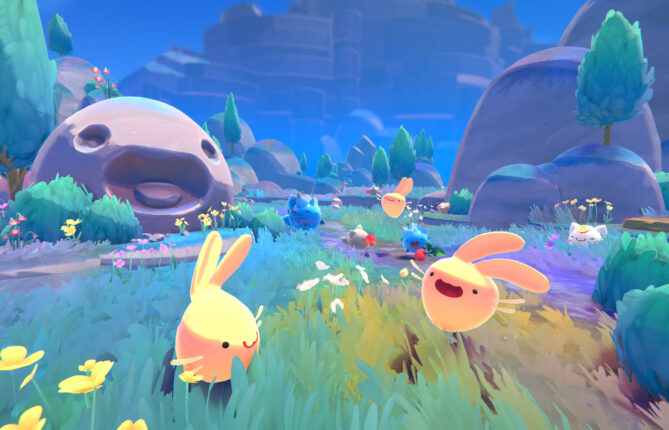 Bust Out That Vacpack and Head for Rainbow Island in 'Slime Rancher 2'