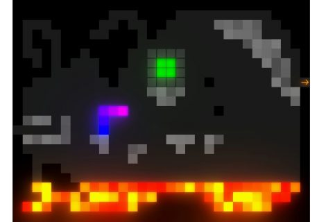 'Snakeformer' Impressions: Snake Goes 2D With Physics, Lava and Falling Blocks