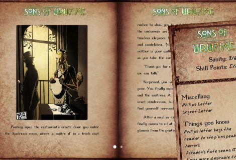 Choose-Your-Own-Lovecraftian-Adventure In 'Sons of Uruzime'