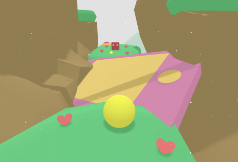 Get Into a Colorful Speedrun Groove With 'Super Lovely Planet'