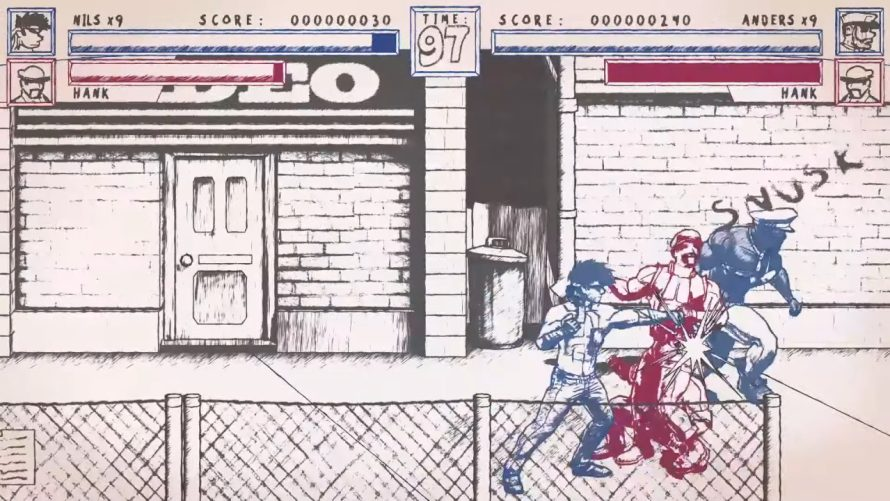 Fight Crime With a Friend in Stylish Beat 'Em Up 'Super Punch Patrol'
