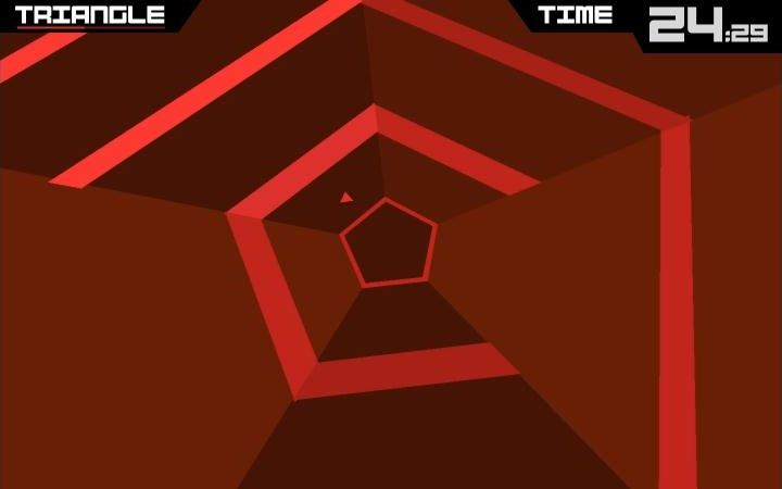 PC Release of 'Super Hexagon' Is Hexagons With Good Times
