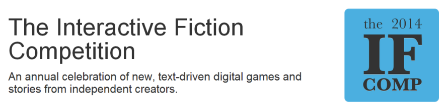 Pen to Paper Time: The 2014 Interactive Fiction Competition Now Accepting Entries