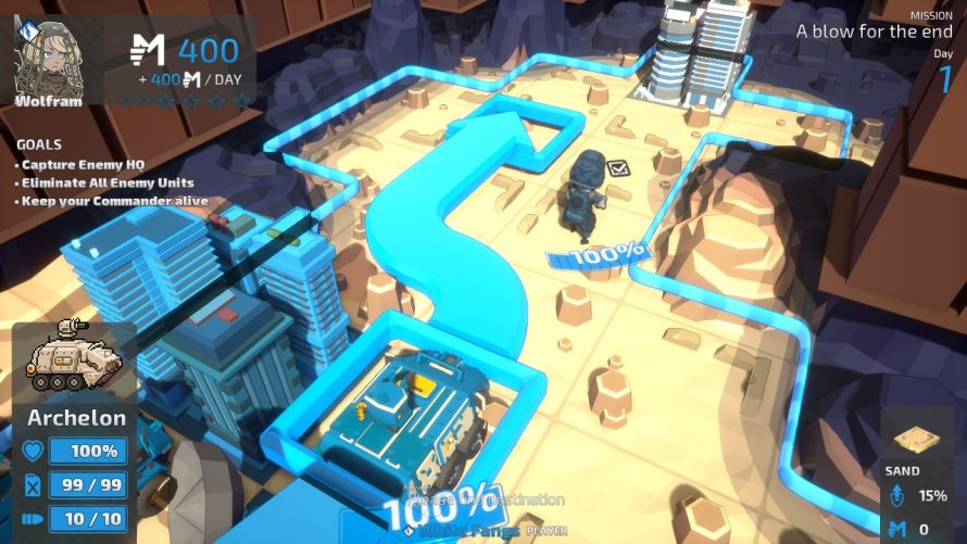 'TINY METAL: FULL METAL RUMBLE' Bringing Tactical Wargaming to the Switch This Spring