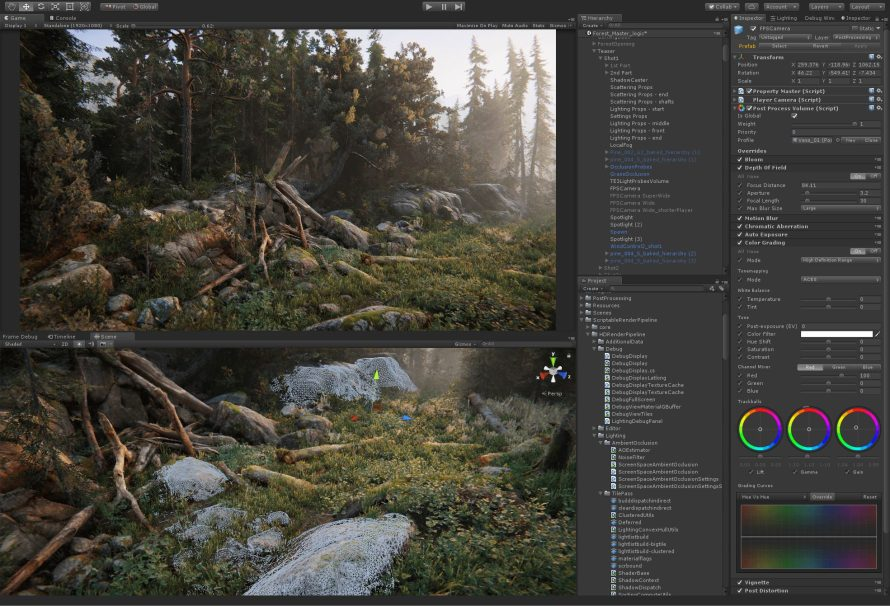Unity 2018.3 Brings Terrain Changes, Dynamic Resolution Scaling and More Fun Stuff