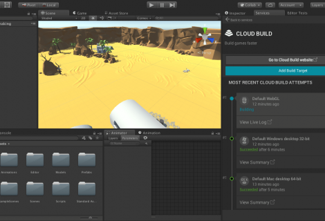 Unity 5.4 Leaves Beta With Performance Boosts, Faster Building, WebGL 2.0 Support