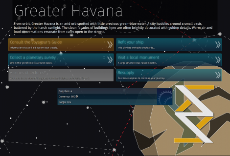 'Voyageur' Has an Infinite Galaxy to Explore, One Full of Choices, Wealth and... Danger?