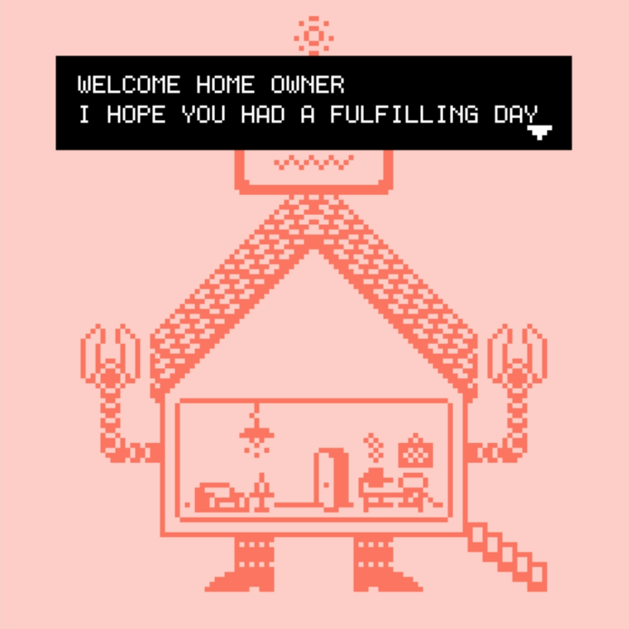 Treat Yourself to a Giant Robot House in 'WELCOME_OWNER'