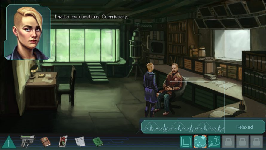 Point 'n Click as a Cybernetically Augmented Detective in 'Whispers of a Machine'