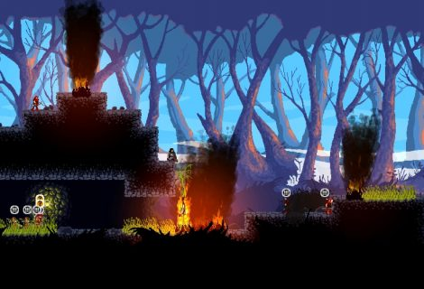 'Wildfire' (Kickstarter): Sneak Through Tall Grass or Set It Ablaze to Make Enemies Panic