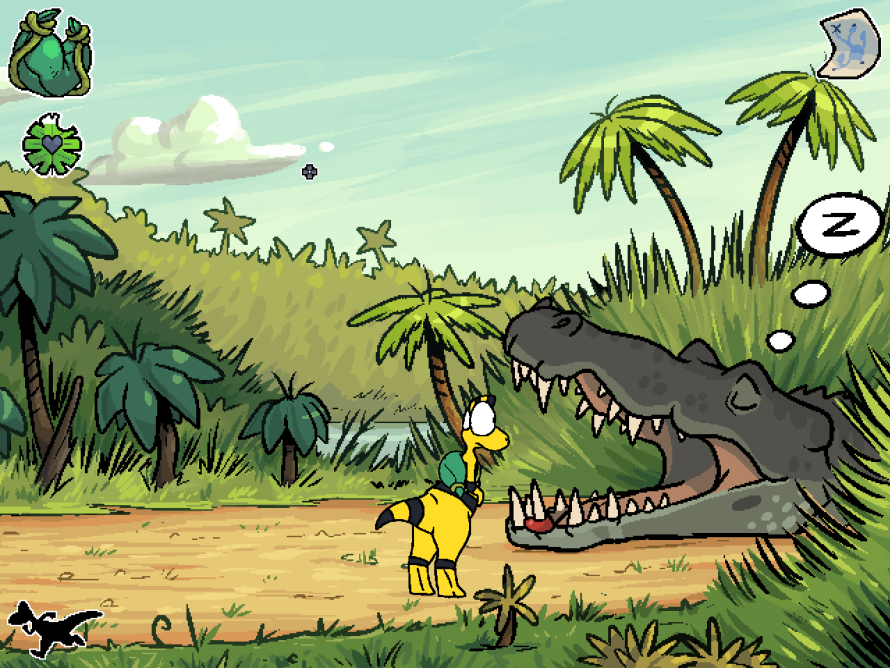 Help a Young Dino Survive the Journey Home In 'Zid & Zniw Chronicles: Zniw Adventure'