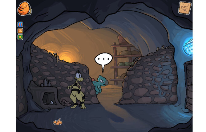 Brace for Cartoonish Dinosaurs in Point 'n Click Affair 'Zniw Adventure'